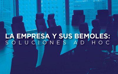 La empresa y sus bemoles: Soluciones Ad Hoc